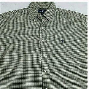Ralph Lauren Polo Men's Medium Button Down Shirt